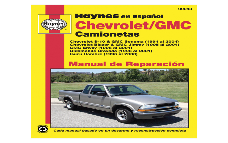 2000 Chevy S10 Pickup Owners Manual