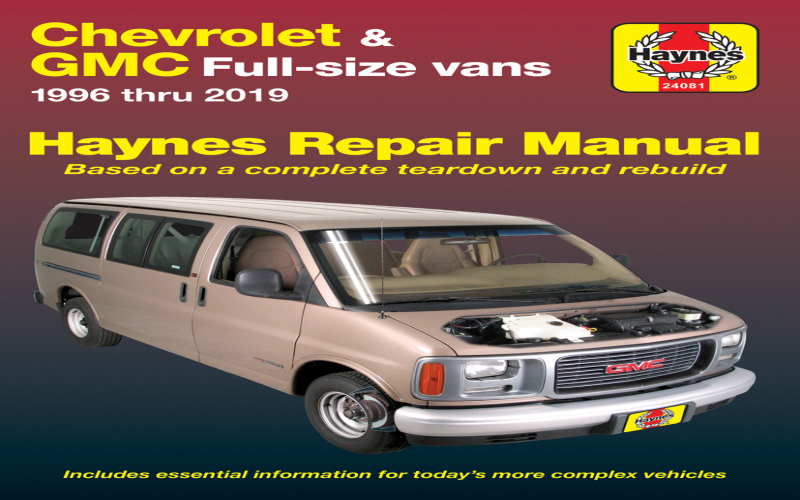 2001 Chevy Express Van Owners Manual