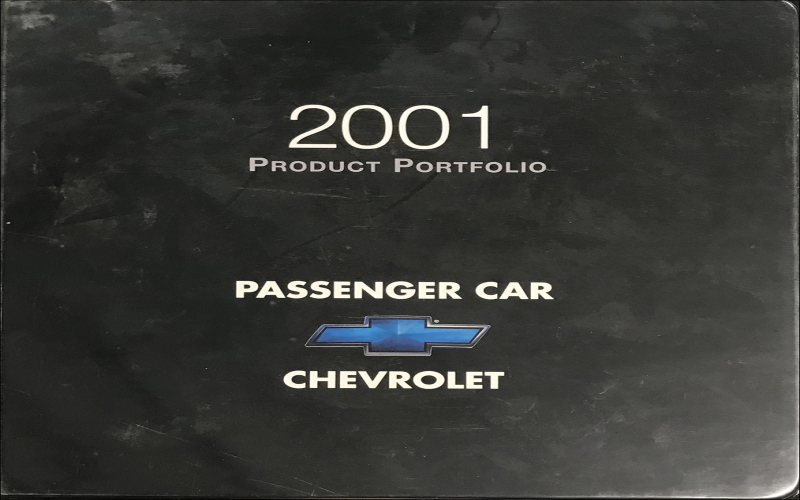 2001 Chevy Prizm Owners Manual