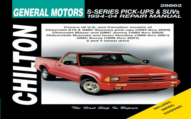 2001 Chevy S10 Blazer Owners Manual