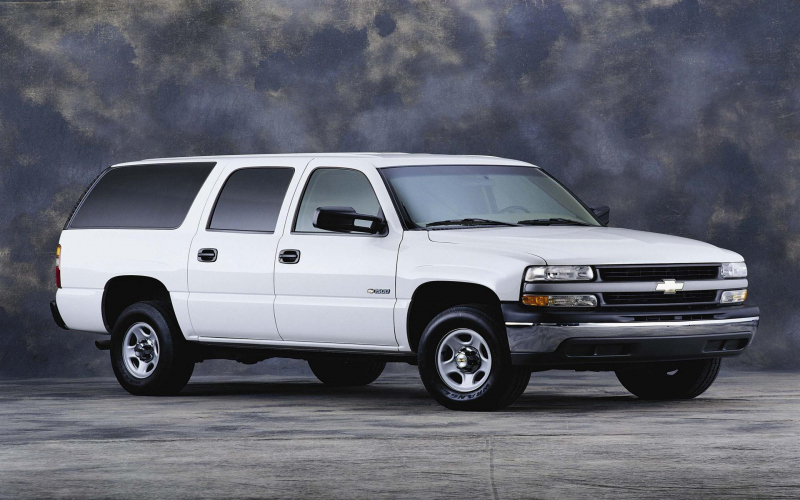 2001 Chevy Suburban 2500 Owners Manual