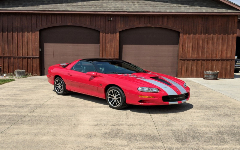 2002 Chevrolet Camaro Ss Owners Manual
