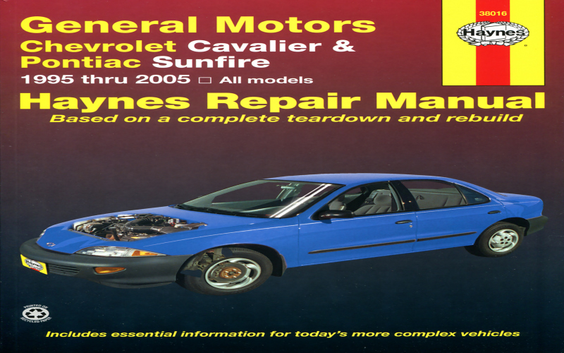 2002 Chevy Cavalier Z24 Owners Manual