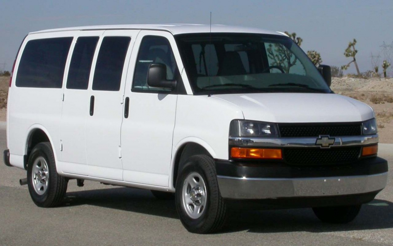 2002 Chevy Express Van Owners Manual