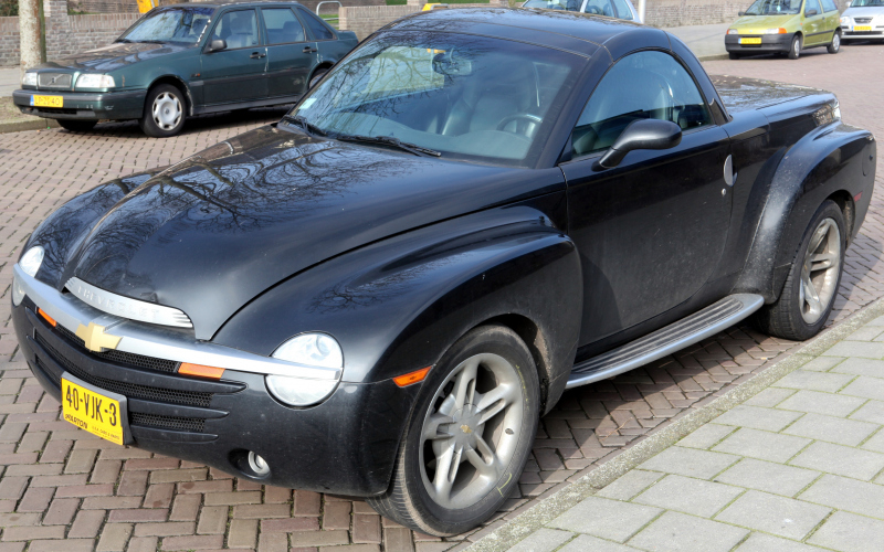 2003 Chevy Ssr Owners Manual