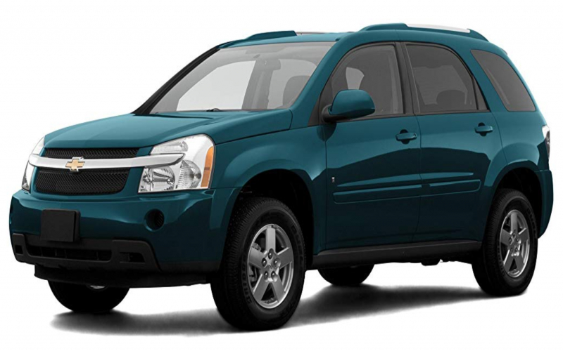 2004 Chevy Equinox Owners Manual