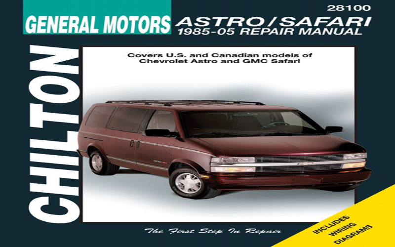 2005 Chevy Astro Owners Manual