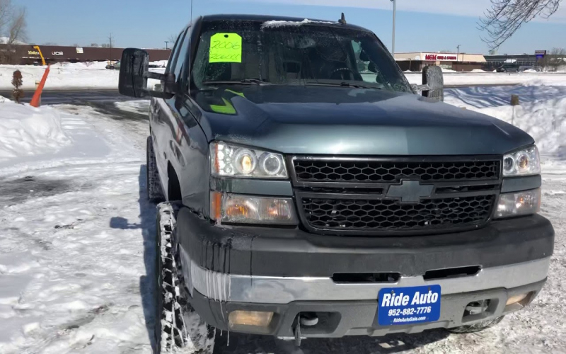 2006 Chevy Duramax Owners Manual