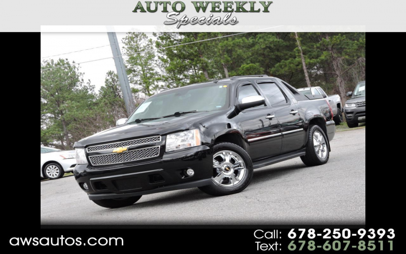 2009 Chevrolet Avalanche Ltz Owners Manual