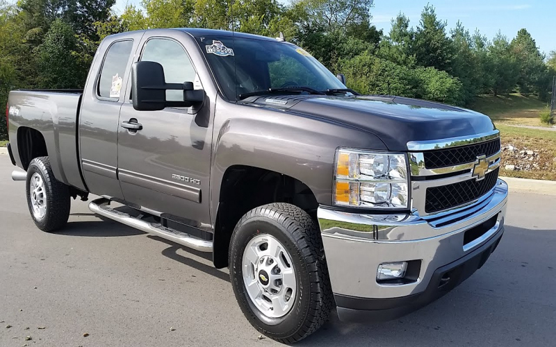 2011 Chevrolet 2500hd Owners Manual