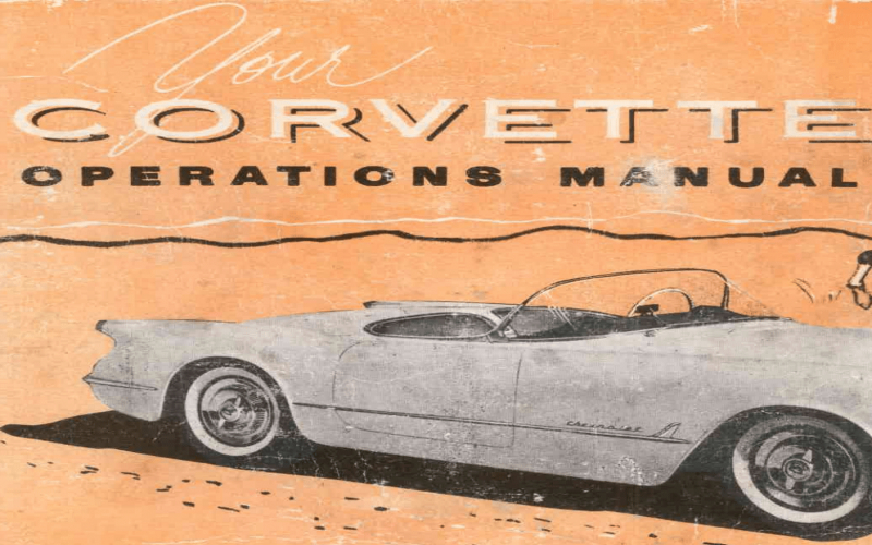 2011 Chevy Corvette Owners Manual