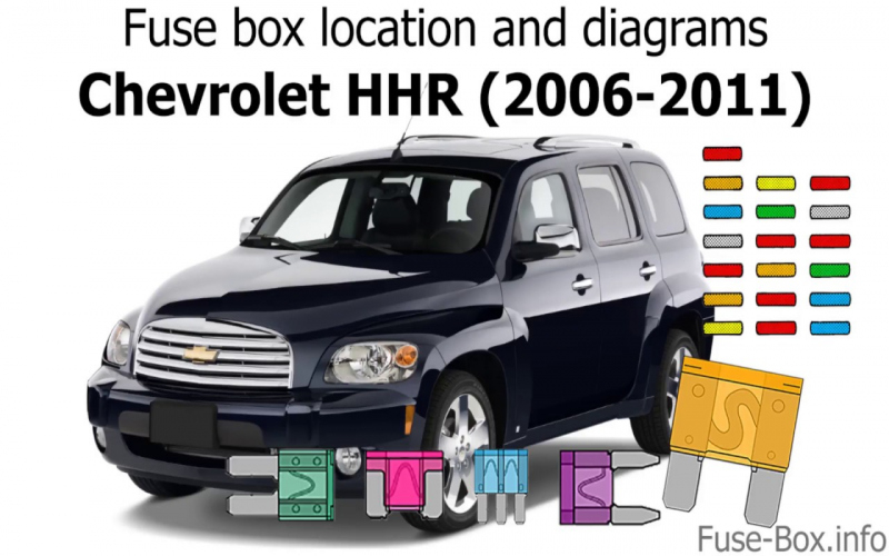 2011 Chevy Hhr Lt Owners Manual