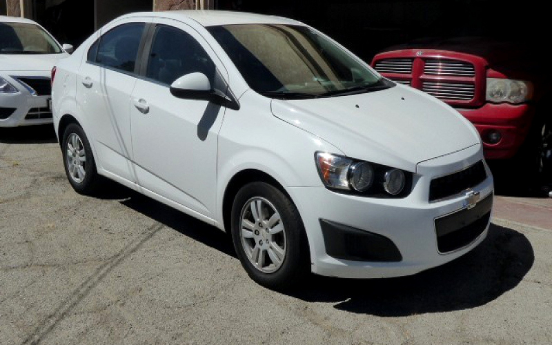 2012 Chevy Sonic Lt Owners Manual