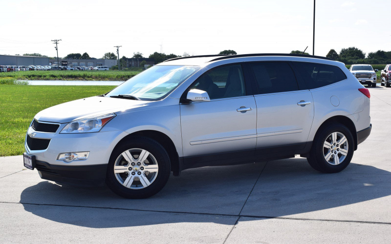 2012 Chevy Traverse Ltz Owners Manual