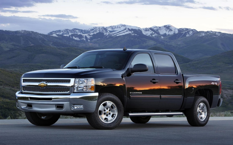 2013 Chevy Truck Owners Manual