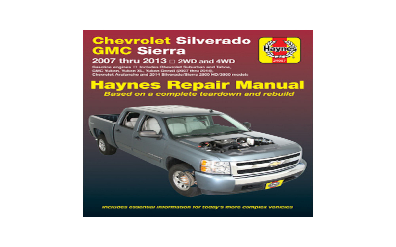 2014 Chevy 2500 Owners Manual
