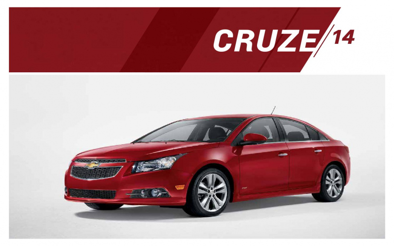 2014 Chevy Cruze Rs Owners Manual