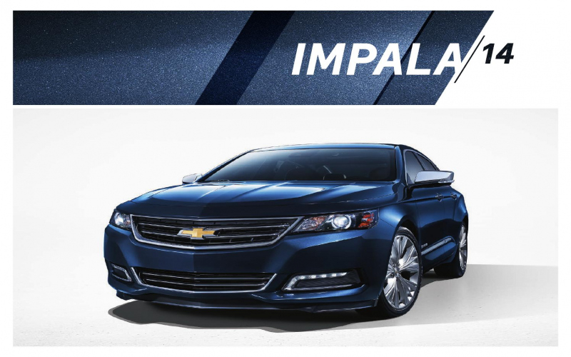 2014 Chevy Impala Limited Owners Manual