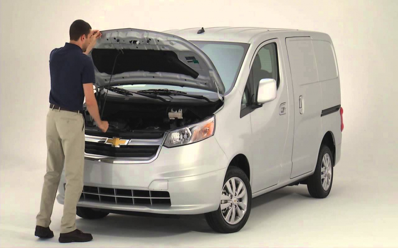 2015 Chevy City Express Owners Manual