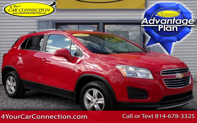 2016 Chevy Trax Lt Owners Manual