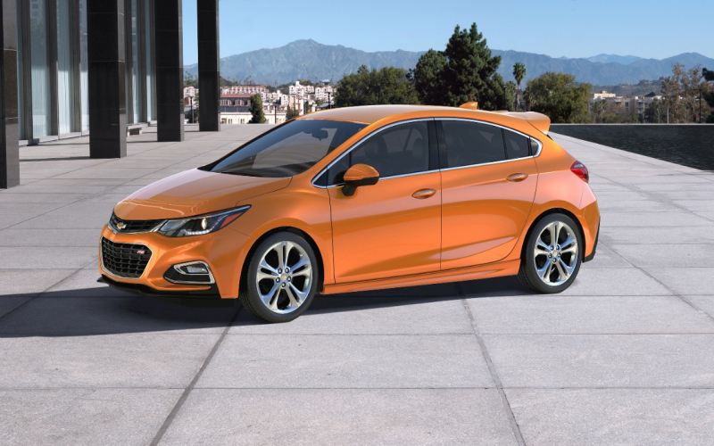 2017 Chevrolet Cruze Hatchback Owners Manual