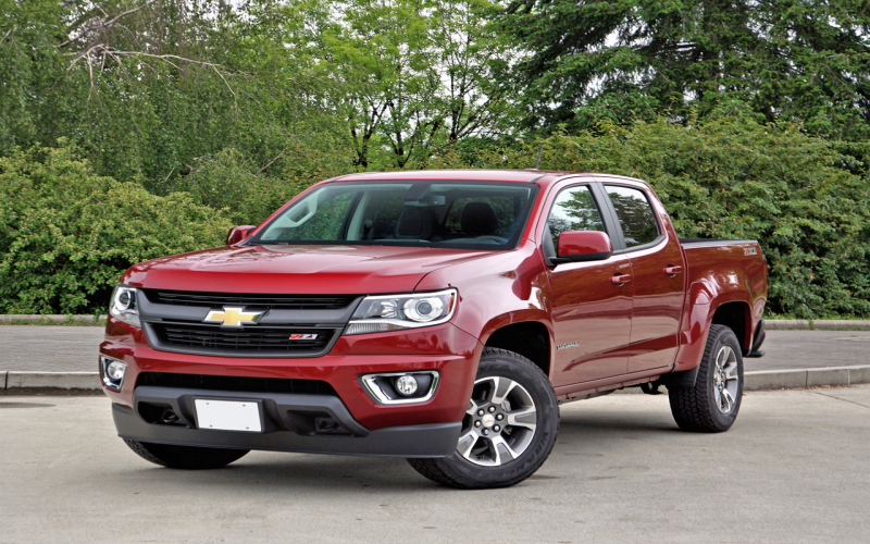 2017 Chevy Colorado Z71 Owners Manual