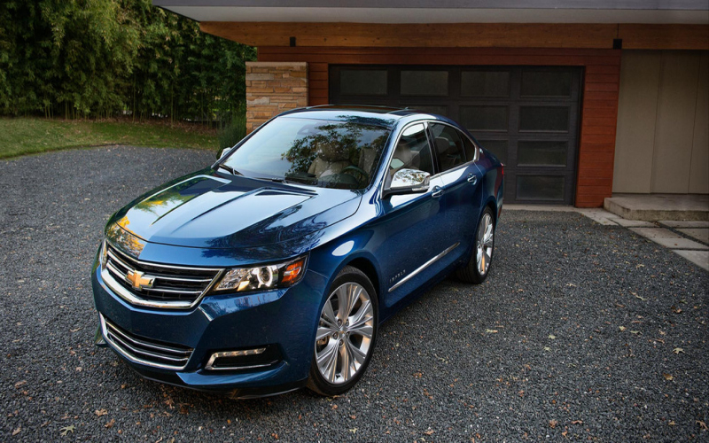 2017 Chevy Impala Owners Manual