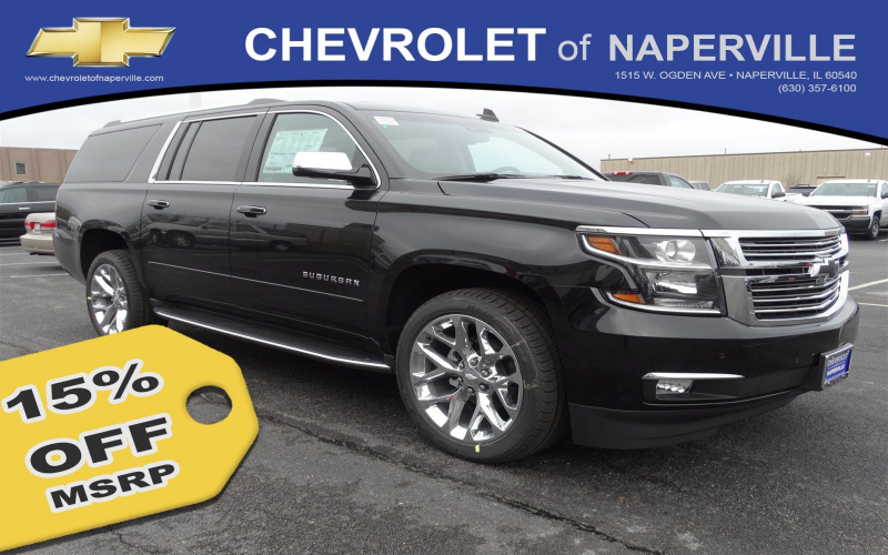 2017 Chevy Suburban Owners Manual