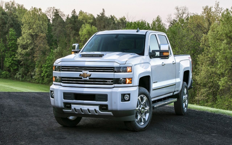 2018 Chevrolet 2500hd Owners Manual