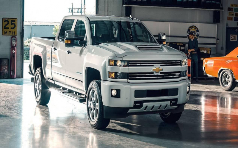 2018 Chevy 3500 Duramax Owners Manual