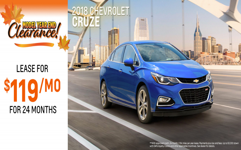 2018 Chevy Cruze Owners Manual