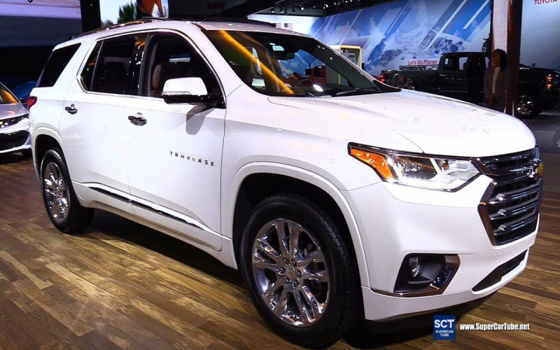 2018 Chevy Traverse High Country Owners Manual