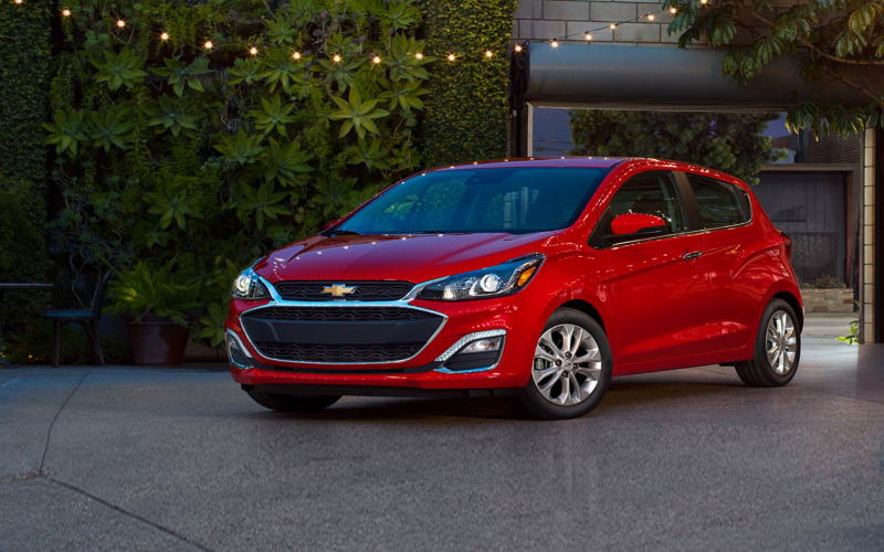 2019 Chevy Spark Owners Manual