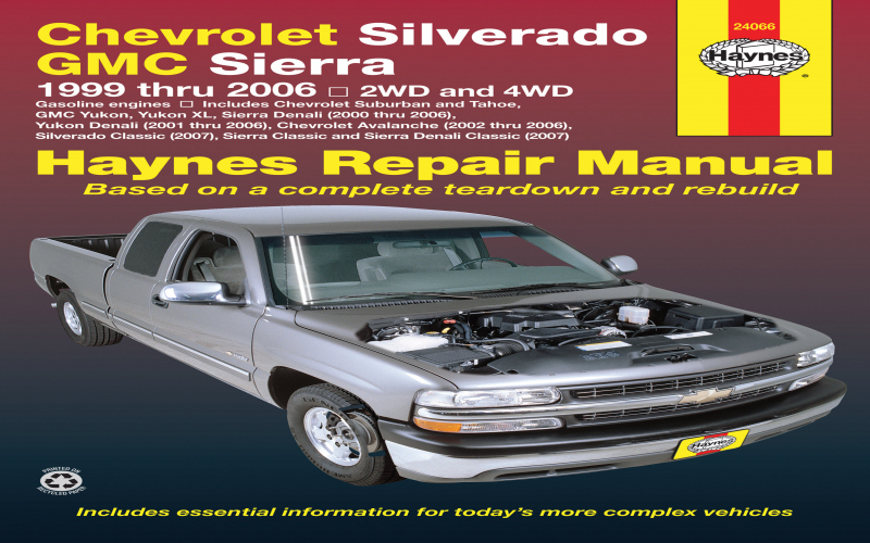 Owners Manual For 2005 Chevy Silverado 1500