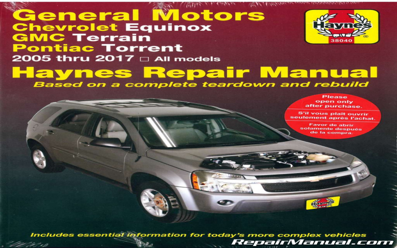 Owners Manual For 2007 Chevy Equinox