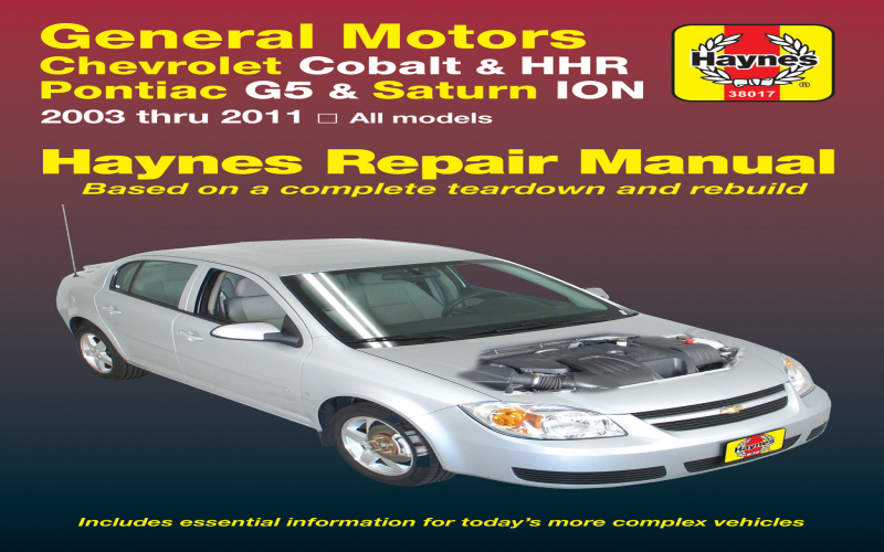 Owners Manual For 2008 Chevy Cobalt