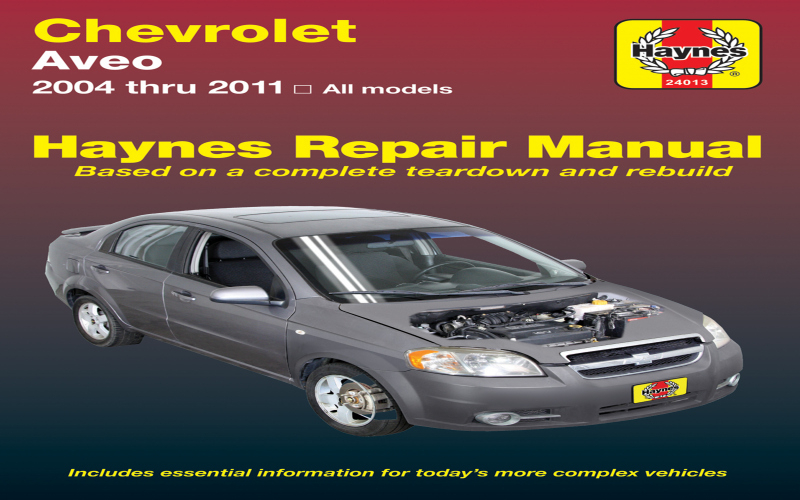 Owners Manual For 2009 Chevy Aveo