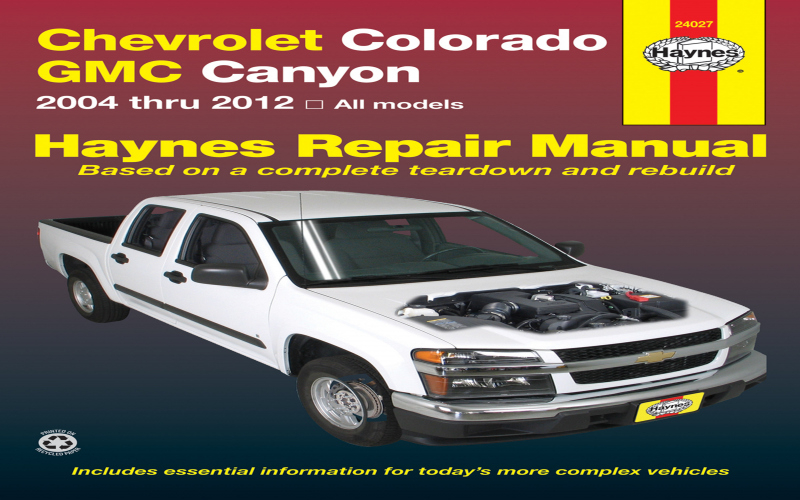 Owners Manual For 2010 Chevy Colorado