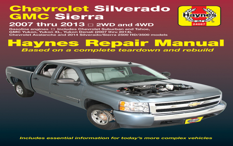 Owners Manual For 2011 Chevy Avalanche
