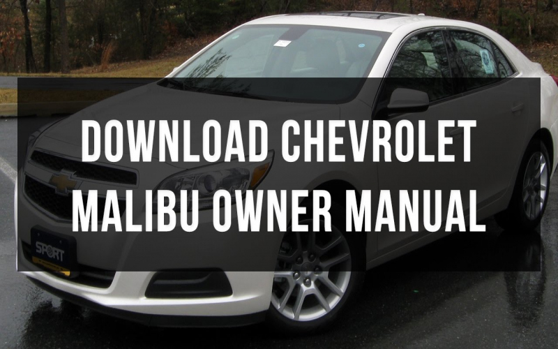 Owners Manual For 2013 Chevy Malibu