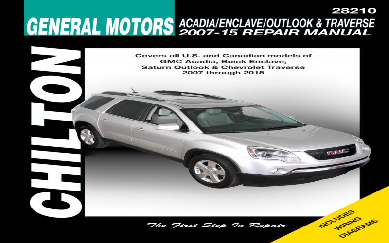 Owners Manual For 2013 Chevy Traverse