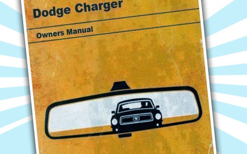 1968 Dodge Charger Owners Manual