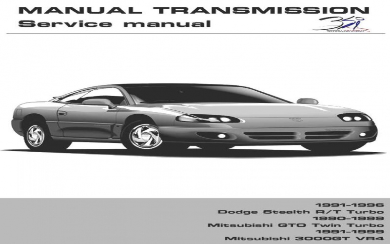 1992 Dodge Stealth Owners Manual Pdf