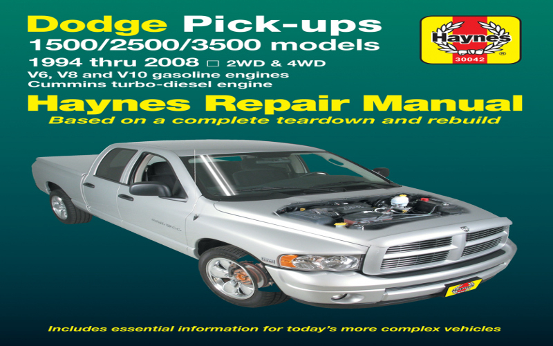 2001 Dodge 1500 Owners Manual