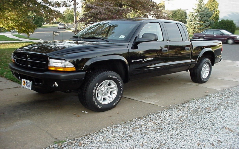 2001 Dodge Dakota 4x4 Owners Manual