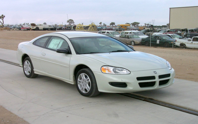 2001 Dodge Stratus R T Coupe Owners Manual