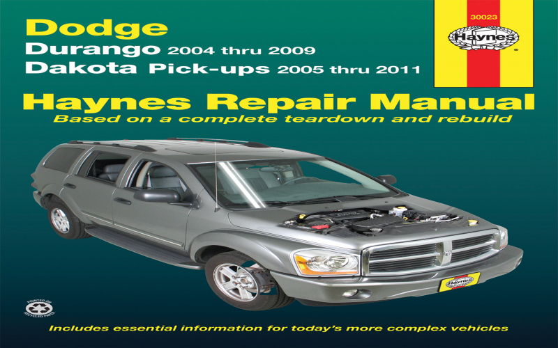 2004 Dodge Durango Hemi Owners Manual
