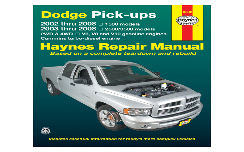 2006 Dodge 1500 Owners Manual