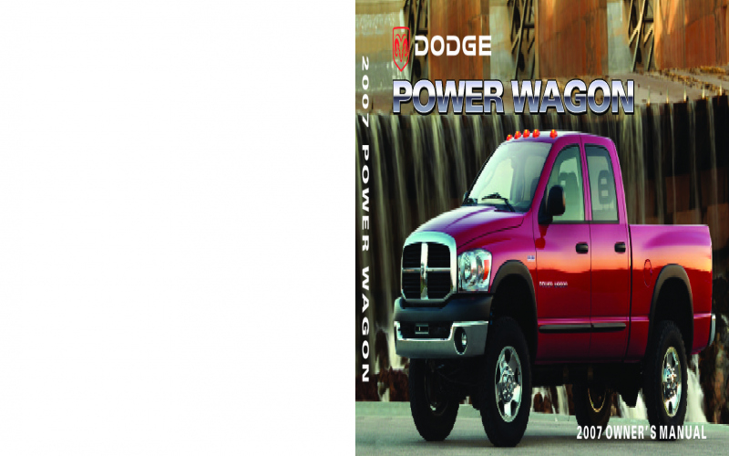 2007 Dodge Truck Owners Manual