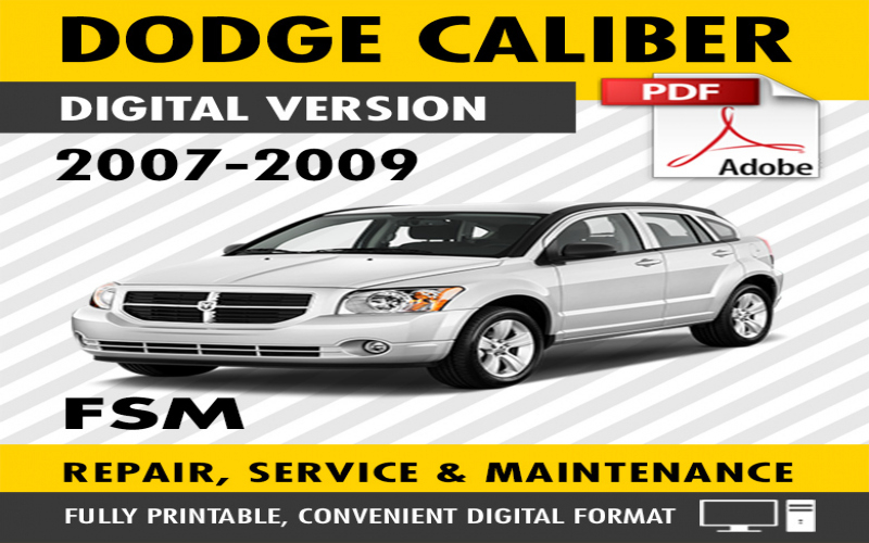 2009 Dodge Caliber Rt Owners Manual